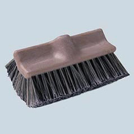 "10"" Dual-Surface Vehicle Brush, Brown - BWK8420 - Pkg Qty 12"