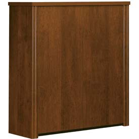 """Bestar® 2-Door Cabinet Hutch for Lateral File - 36"""" - Tuscany Brown - Embassy Series"""