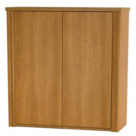 "Embassy 36"" 2-Door Cabinet for Lateral File in Cappuccino Cherry"