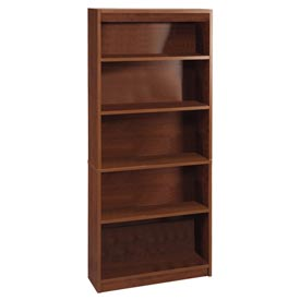 "72"" Bookcase with 5 Shelves in Tuscany Brown"
