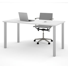 Bestar All-Purpose Worksurface Table - 60 x 30 - White