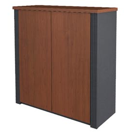 "Click here to buy Bestar Storage Cabinet 30"" Bordeaux & Graphite Prestige+."