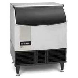 Cube Ice Maker, Undercounter, Water-Cooled, Approx 356 Lb Production Half Size Cube