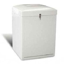 """Better Way Partners Marine Trash Receptacle TR2 White - 27""""W x 27""""D x 36""""H"""