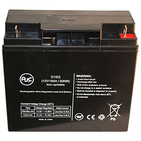 AJC® UP Sonic LAN75A 6V 12Ah UPS Battery