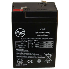 AJC®  Sunago SB604B 6V 5Ah Sealed Lead Acid Battery