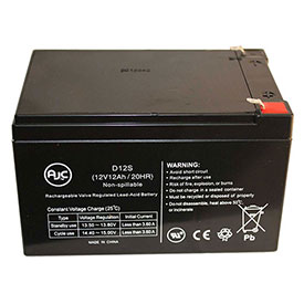 AJC Panasonic LCR12V12PF Sealed Lead Acid AGM VRLA Battery by