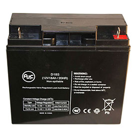 AJC Panasonic LCR12C17CP 12V 18Ah Sealed Lead Acid Battery by