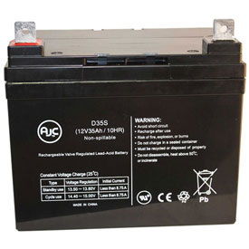 AJC Panasonic 12V 33Ah 12V 35Ah Sealed Lead Acid Battery by