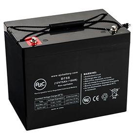 AJC Panasonic LC-L1265P 12V 75Ah Sealed Lead Acid Battery by