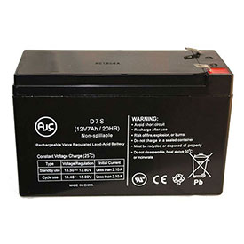 AJC Panasonic LCR127R2P Sealed Lead Acid AGM VRLA Battery by