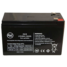 Click here to buy AJC Tripp Lite Home Theater HTR10-2U 12V 8Ah UPS Battery.