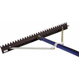 "36"" Sharp Tooth Lute Rake, 6' Snap Handle"
