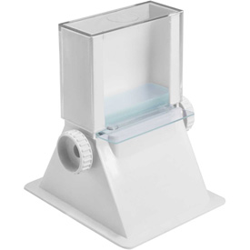 "Bel-Art Microscope Slide Dispenser 445620000, ABS Plastic, 4-3/8""W x 4-7/8""D x 5-1/2""H, White,... by"
