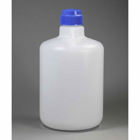 Bel-Art Autoclavable Carboy without Spigot 107940050, Polypropylene, 20 Liters, White, 1/PK by