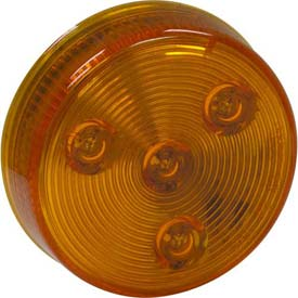"""2-1/2"""" Round 4 Led Amber Marker Light Min Count 100 by"""