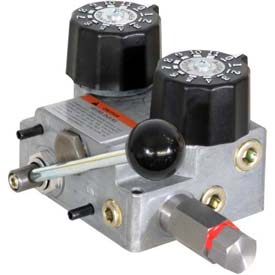 Buyers Hydraulic Spreader Valve, HVC1030, Valve & Console, 10/30 GPM, 155 LPM, 2000 PSI, 140 BAR by