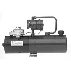 """Buyers Manual 4-Way Valve DC Power Unit, PU310LR, 2.2 Gal Steel Reservoir, .250"""" NPTF Outlet by"""