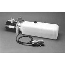 """Buyers Electric 3-Way Release Valve DC Power Unit, PU319LR, 1.87 Gal Poly Reservoir, .375"""" NPTF by"""