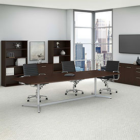 Tables conference tables bush furniture boat top for 120 conference table