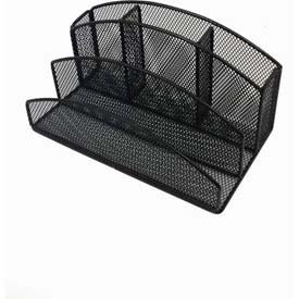 Wire Mesh Desk Organizer