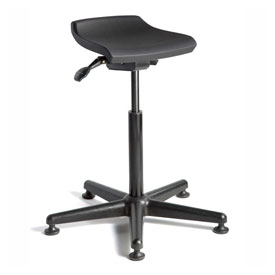 Bevco Sit Stand Stool Deluxe D3505 - Polyurethane - Black  sc 1 st  Global Industrial & Stools | Polyurethane | Bevco Sit Stand Stool Deluxe D3505 ... islam-shia.org
