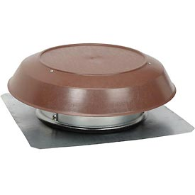 Broan 355BR Roof Mounted Powered Attic Ventilator With Brown PVC Dome - 1200 CFM