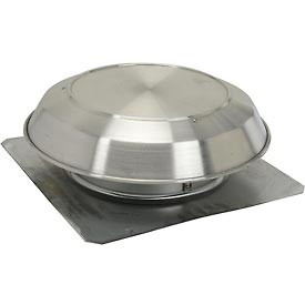 Broan 358 Roof Mount Attic Ventilator With Aluminum Dome - 1200 CFM