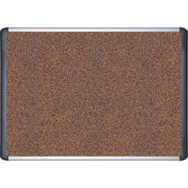 "MasterVision Techcork Board, Cork/Rubber Combination, 48""W x 36""H"