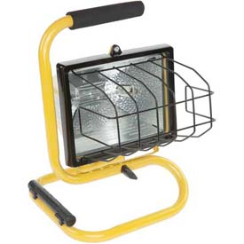 Bayco® Halogen Light Sl-1002, 3'L Cord, 18/3 Ga, Yellow - Pkg Qty 6