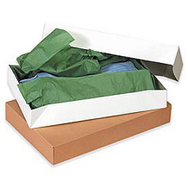 "Kraft Apparel Box 15"" x 9-1/2"" x 2""- 100 Pack"