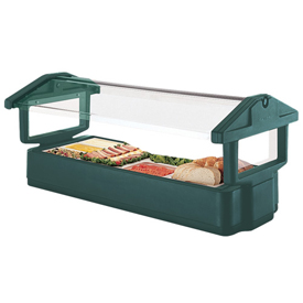 "Cambro 4FBRTT519 Tabletop Salad Bar, 51""L x 27""H, Table Top, 4-Pan Size,... by"
