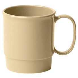 Cambro 75CW133 Stacking Cup 7.5 Oz., Beige Package Count 48 by