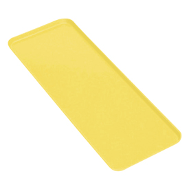 Cambro 830MT145 - Market Tray 8 x 30, Yellow - Pkg Qty 12