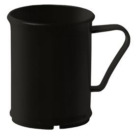 Cambro 96CW110 Cup Mug, Black Package Count 48 by