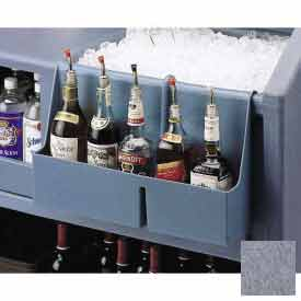 Cambro BAR54SR191 Speed Rail 5-bottle Granite Gray by