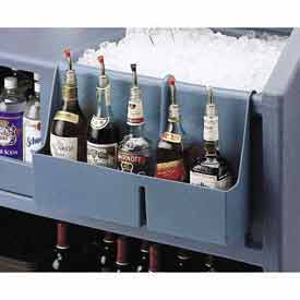 Cambro BAR54SR401 Speed Rail 5-bottle Slate Blue by