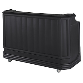 Cambro BAR730CP110 - Large Size Partially Equipped for Soda Service, Black
