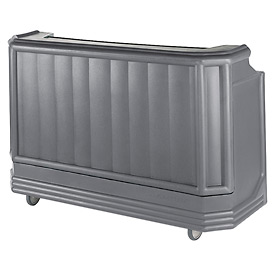 Cambro BAR730PM191 - Large Size w/Post-mix system Bag-in-box Syrup, Granite Gray