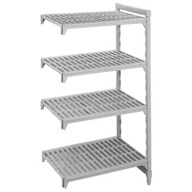 Camshelving® Add-On Unit - 4 Vented Shelves 18x60x72
