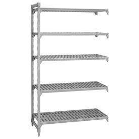 Camshelving® Add-On Unit - 5 Vented Shelves 18x54x72