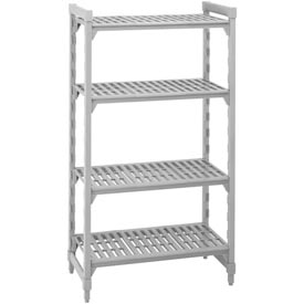 Camshelving® Stationary Starter - 4 Vented Shelves 21x36x64