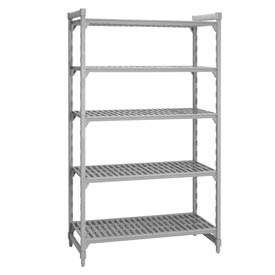 Camshelving® Stationary Starter - 5 Vented Shelves 18x48x64