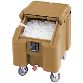 Cambro ICS100L157 - Ice Caddies, Beige, 100 Lbs. Cap.