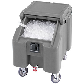 Cambro ICS100L4S191 - Ice Caddies, Granite Gray, 100 Lbs. Cap.