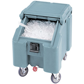 Cambro ICS100L4S401 - Ice Caddies, Slate Blue, 100 Lbs. Cap.