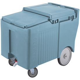 Cambro ICS125LB401 - Ice Caddy, Slate Blue, 125 Lbs. Cap., 4 Swivel, 1 with Brake