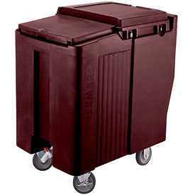 Cambro ICS125T131 - Ice Caddy, Dark Brown, 125 Lbs. Cap., Tall
