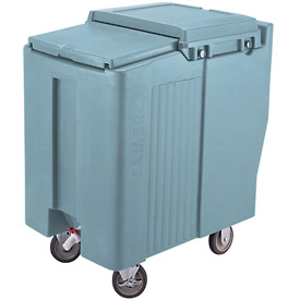 Cambro ICS125T401 - Ice Caddy, Slate Blue, 125 Lbs. Cap., Tall
