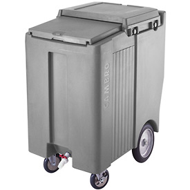 Cambro ICS200TB191 - Ice Caddy, Granite Gray, 200 Lbs. Cap., Tall